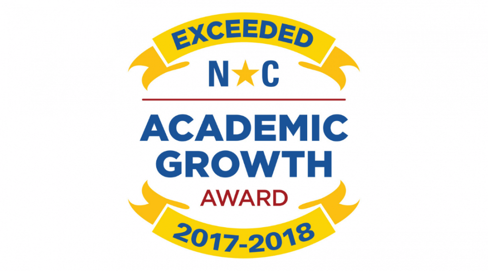 GSA Receives Academic Growth Award From North Carolina  for Outstanding 2016-2017 Academic Performance