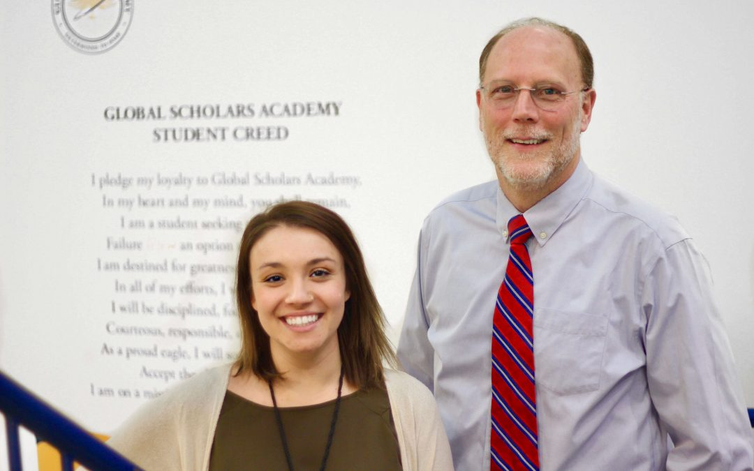 Global Scholars Academy Faculty Rank Among the Top 20% in NC for EVAAS Growth