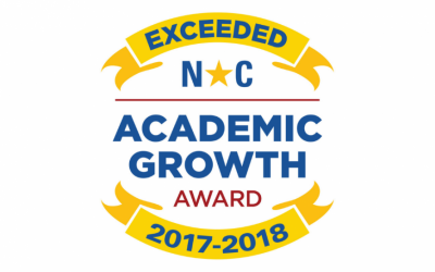 GSA Receives Academic Growth Award From North Carolina  for Exceeding 2017-2018 Academic Performance
