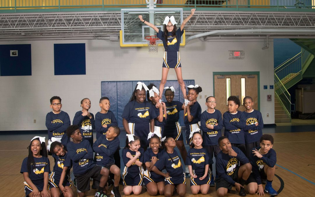 Congratulations to the GSA Spring 2018 Cheer Squad and Basketball Team!